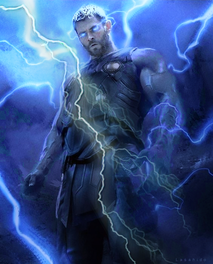 Freetoedit Thorragnarok Thor Chrishemsworth Lightning