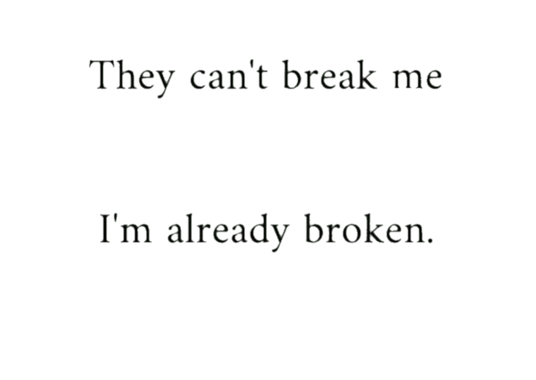 Broken Depression Quotes Tumblr