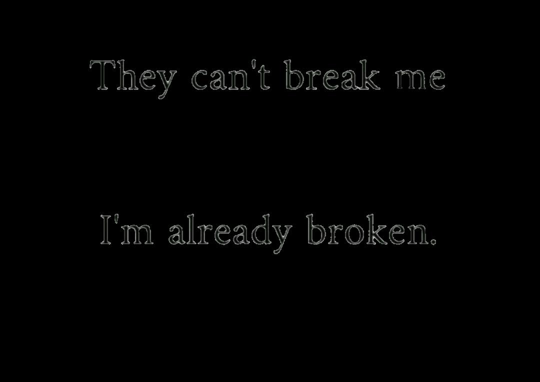 Photos Sad Depressed Tumblr Quotes: Broken Depression Quotes Tumblr