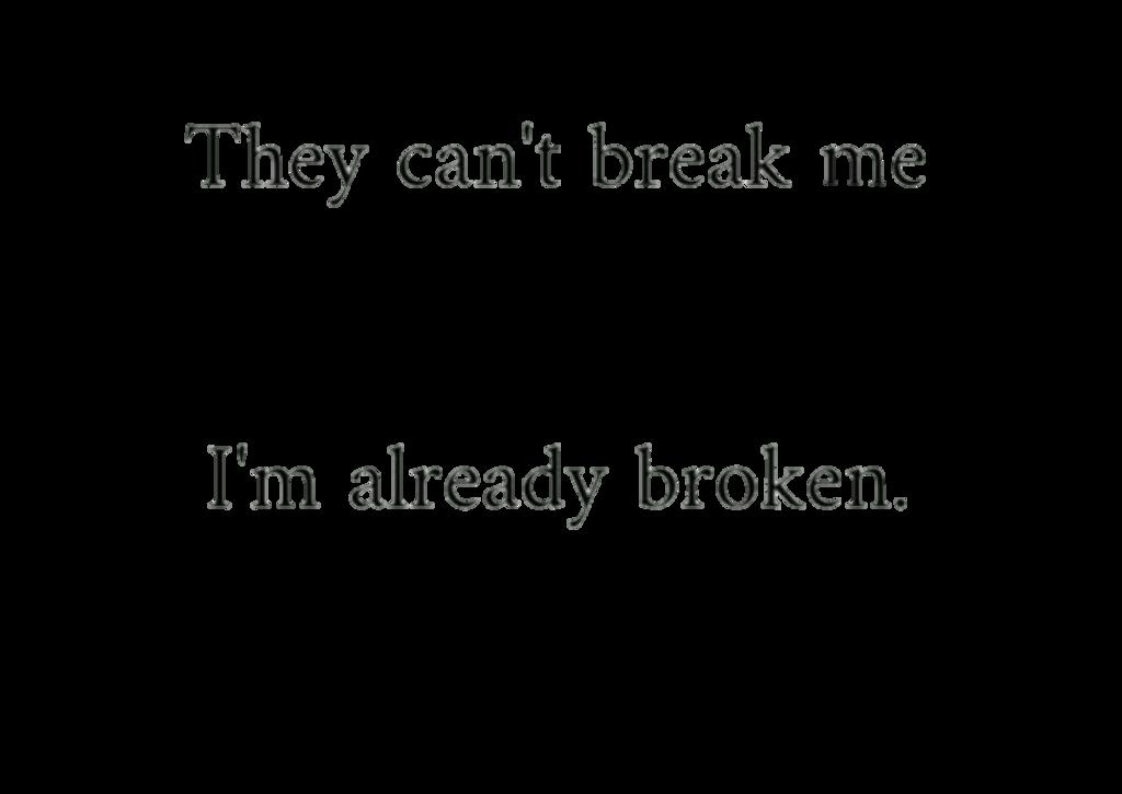 Depressing Quote On Tumblr: Broken Depression Quotes Tumblr