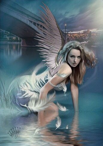 Happy Day 🌞 🎶🌸🎶🌸🎶🌸🎶 my dear @picsart friends 😊 #myedit #imagination #surreal #angel #bridge #art #fantasyart