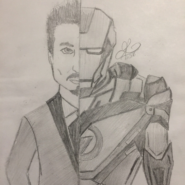 #freetoedit #cool #drawing #sketch #avengers #superhero