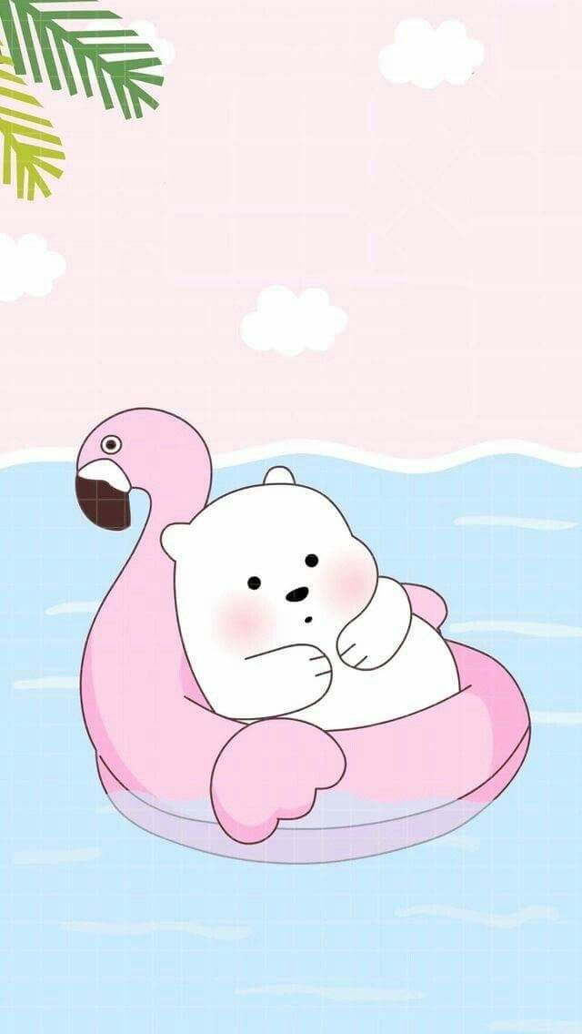 Freetoedit Cute Wallpaper Ice Bear So Cute I