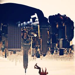 buildings falling freetoedit remixit