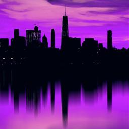 newyorkcity nyc manhattan bigapple landscape freetoedit pcpurple