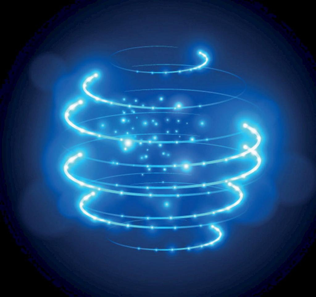 Ftestickers Effect Spiral Light Glow Neon Blue