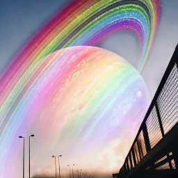 freetoedit planet rainbow like4like hopeyoulikeit