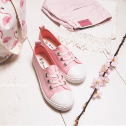 shoes sneakers pink shoelover spring