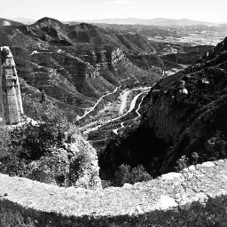 montserrat mountains mountainviews view landscape