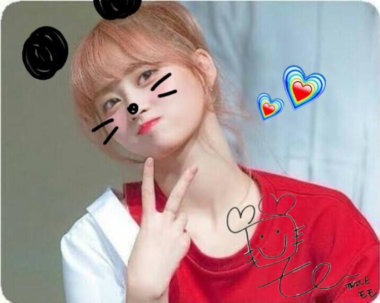 #freetoedit #twice #momo #panda #red #heart #white #japan #korea #cute