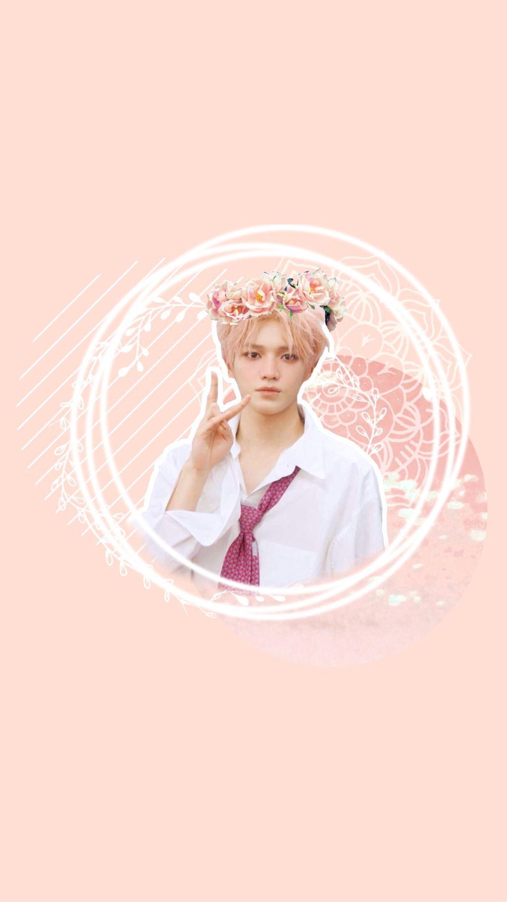 Nct Taeyong Wallpaper Nct Taeyong Ncttaeyong Kpop Peach
