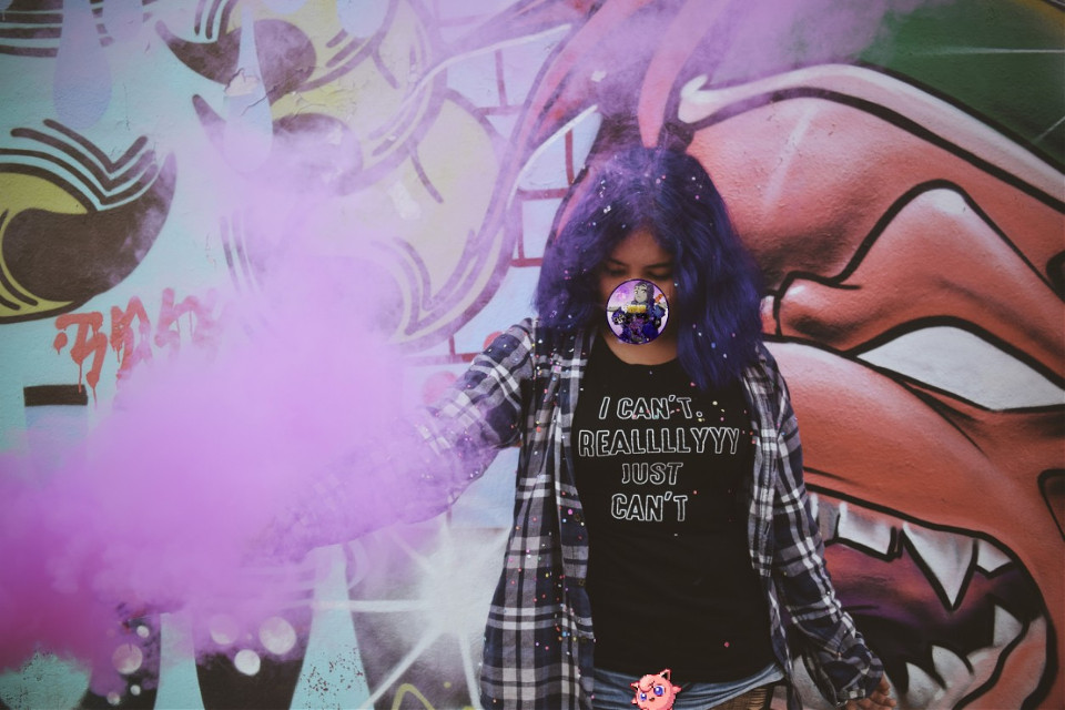 #freetoedit  #graffiti #graffitti #grafitti #Urban #VioletHair #Smoke