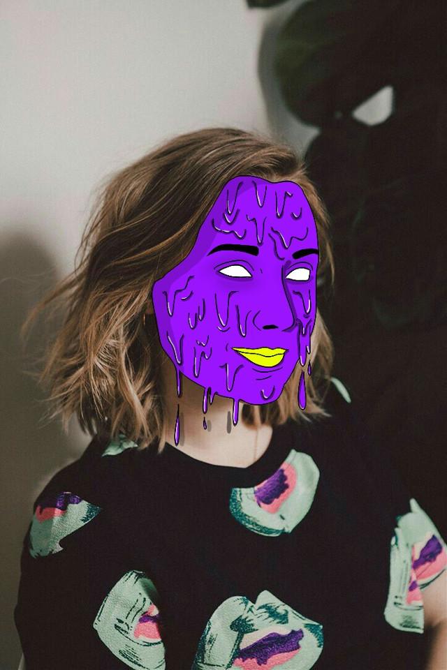 Saoirse Ronan Grime edit #saoirseronan  #freetoedit #grimeedit #grimeface #grimeart #grimetumblr #fanart #purple #grime #tumblr #grimeartwork