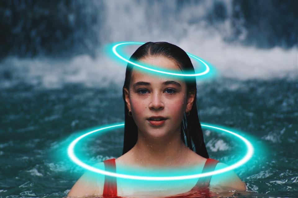 #freetoedit #women #girl #neon #circle #lake #stream #bath #freetoeditremix #freetoedit @freetoedit