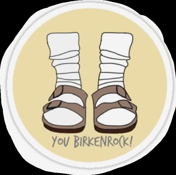4855d58bb76 birkenstock freetoedit - Sticker by enajkendall
