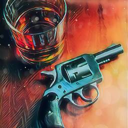 alcohol guns dead