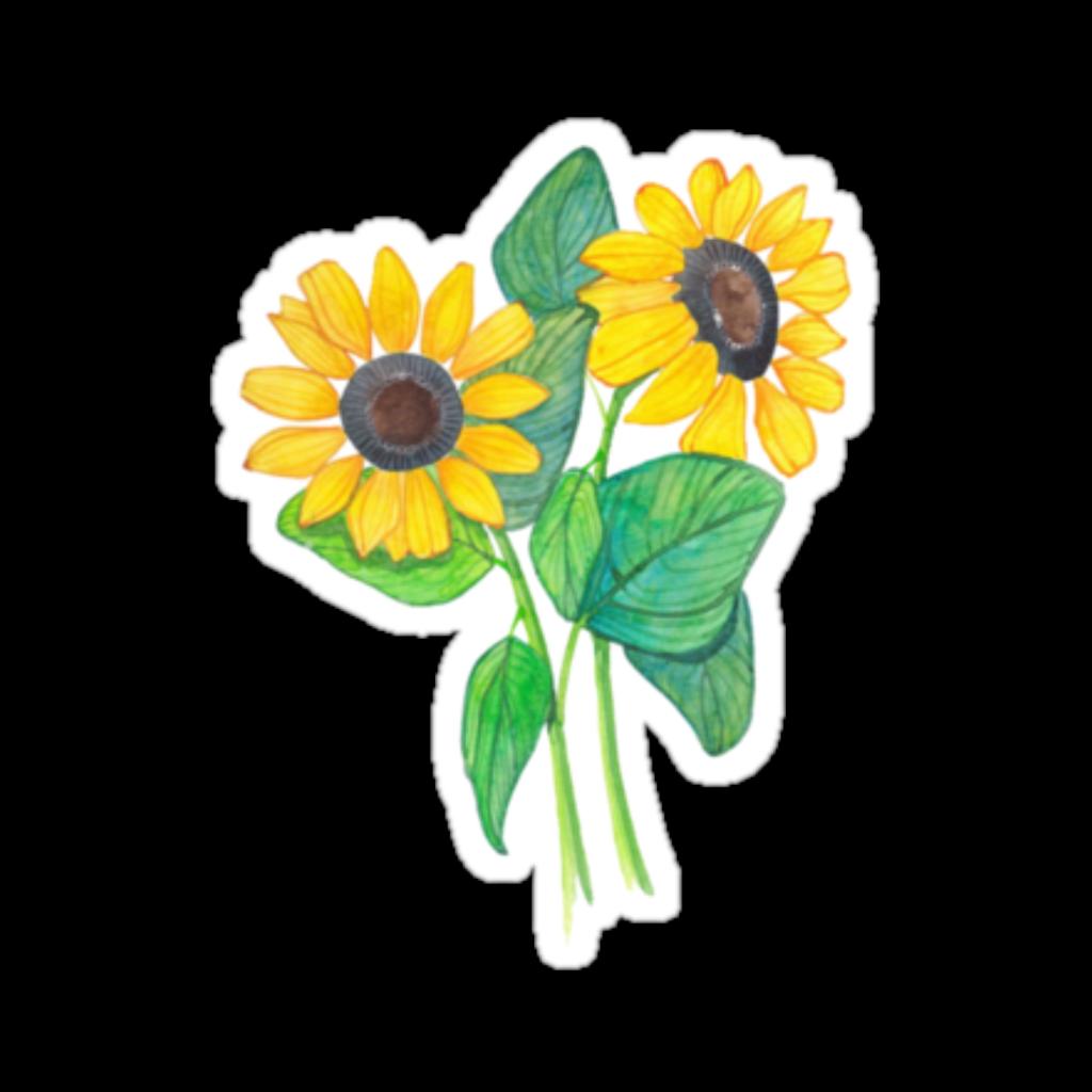 Flower Sticker Png