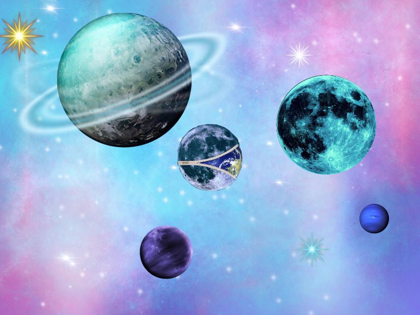 #galaxy #planets