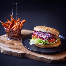 food burger foodblogger foodporn photography