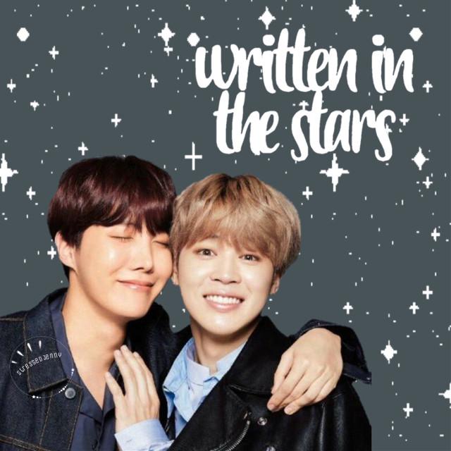 A friendship written in the stars.  #freetoedit #parkjimin #junghoseok #jimin #hoseok #bts #bangtanboys #beyondthescene #writteninthestars #jihope #stars #text #writing #words