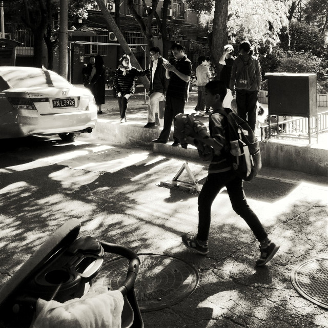 #after school#street#blackandwhite #blackandwhitephotography #phonephotography #phonecamera #students