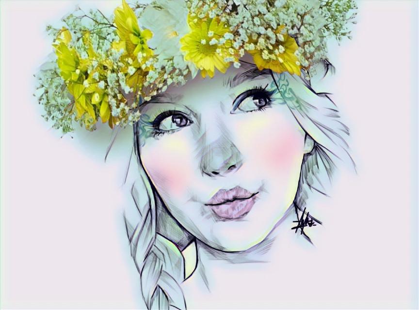 #freetoedit #picsart #magiceffects #colourful #girl #cute