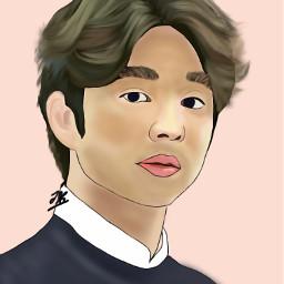 freetoedit gongyoo drawing portrait draft