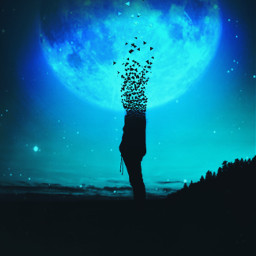 dispersiontool idontfeelsogoodmeme moon silhouette ecidontfeelsogoodmeme freetoedit