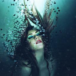 dipersiontool ecidontfeelsogoodmeme freetoedit drowning girl