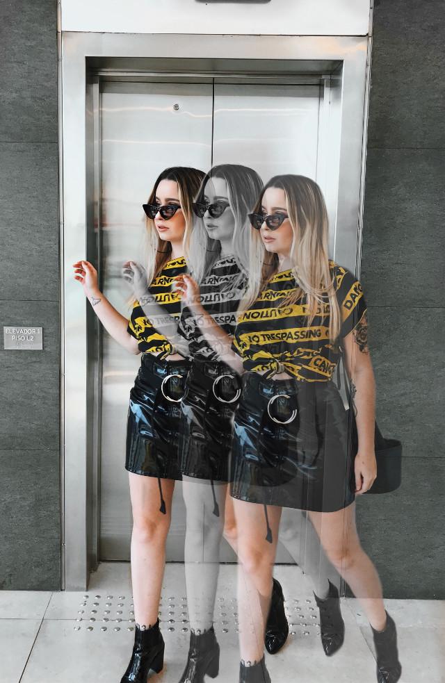 #freetoedit #look #fashion #moda #skirt #belt #saia