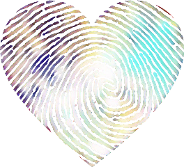 sticker stickers freetoedit heart fingerprint