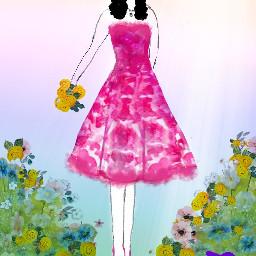 freetoedit mothersdaybrush rainbowlightmask woman fashion