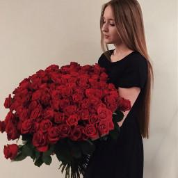 flower flowerpower rose girl love