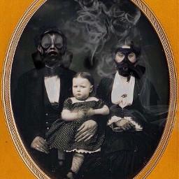 smoke goth spooky creepy halloween