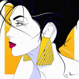 punksy artist painter illustrator artdeco