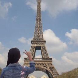 paris edited famouslandmark freetoedit