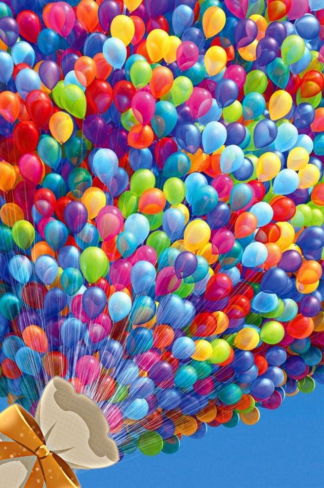 #interesting #balloon #sky #blue #colorful #freetoedit