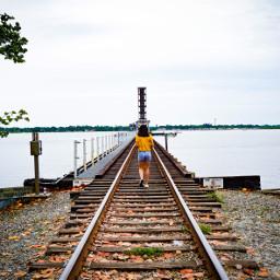railroadtrack yellow water riverwalk bradenton
