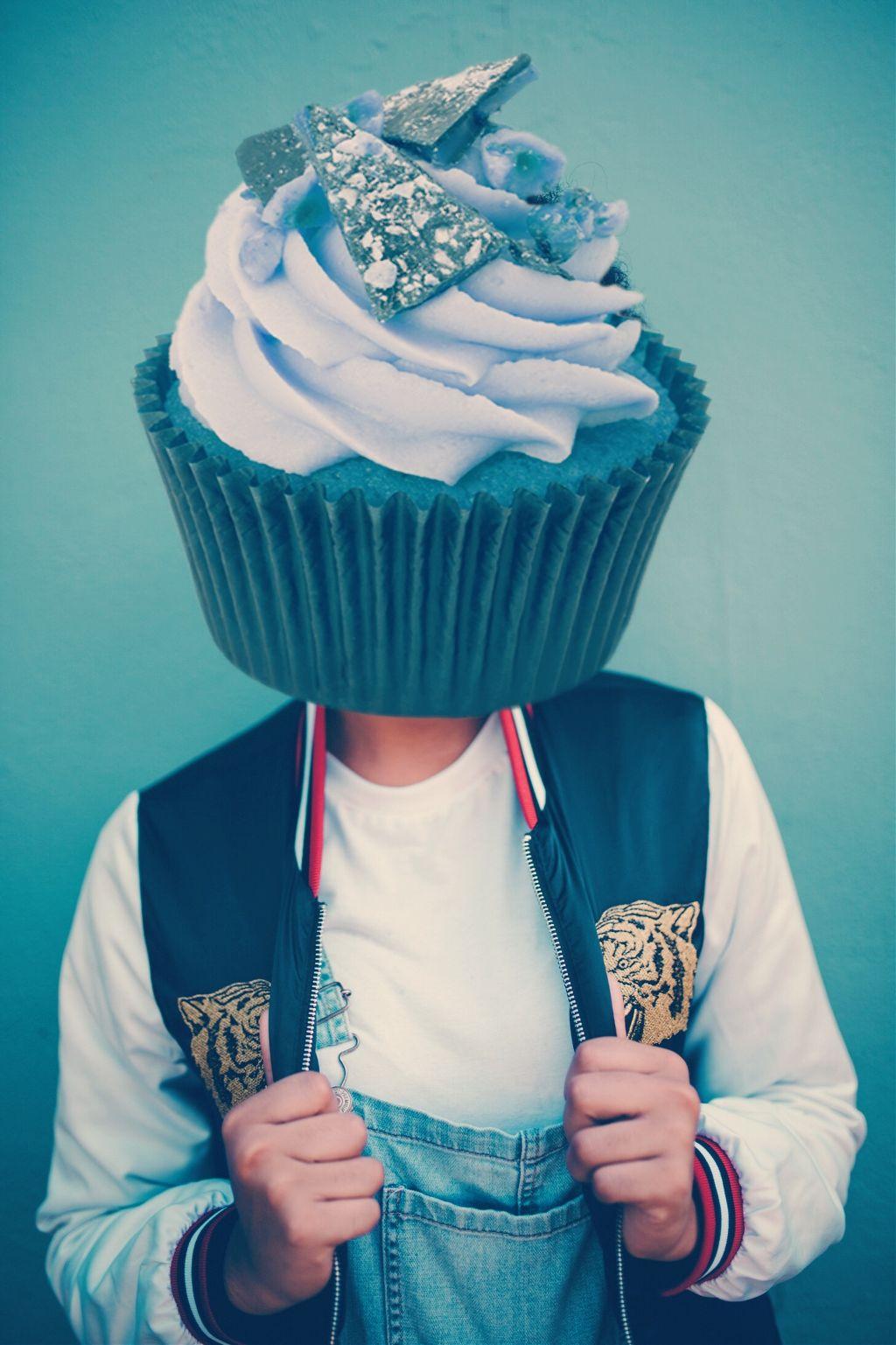 #freetoedit cupcake pepole