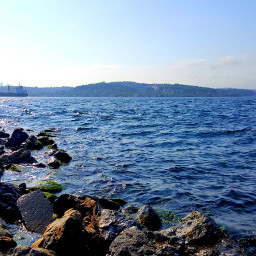 beautiful nature marmara sea istanbul