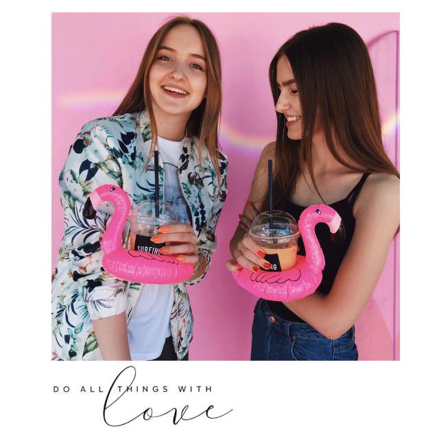 #freetoedit #party #california #japan #flamingo #girl #pink #love #sky #summer #beautiful #smile