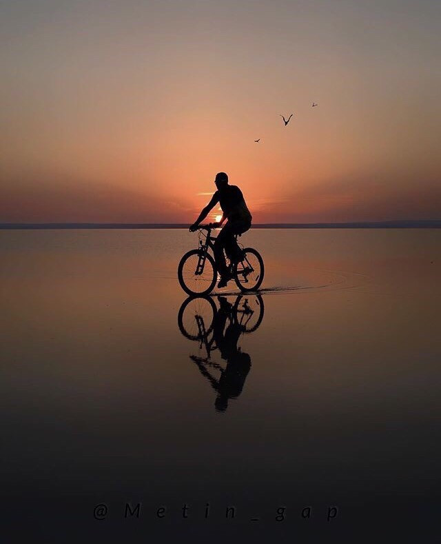 Have a wheelie great day. This shoutout goes to third place Travel photography winner @aumghelda11 Ride off into the abyss of your subconscious and create expressive art out of your thoughts. Don't forget to share! #Bike #Cycle #Photography #Challenge