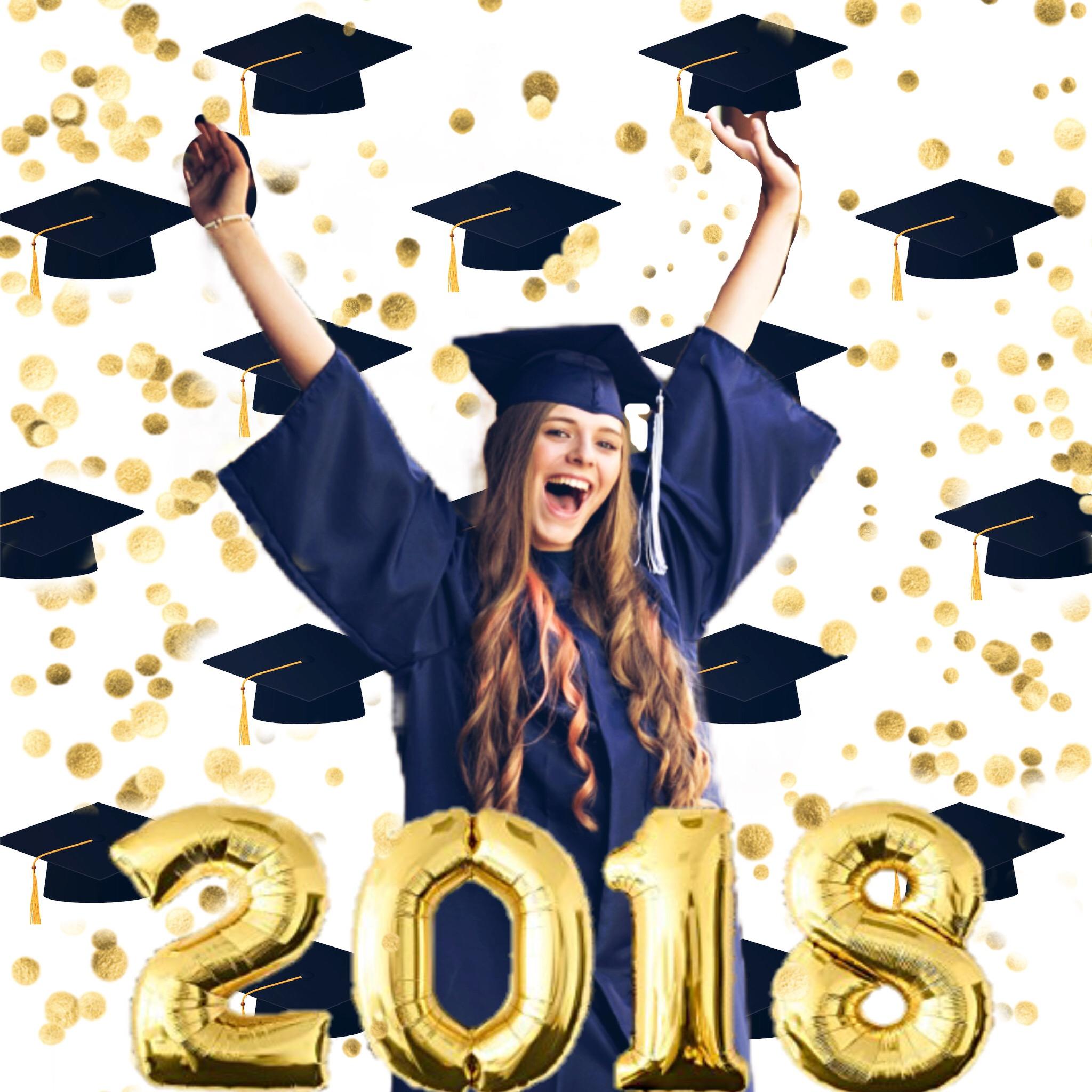 #freetoedit #2018 #classof2018 #grad #congrats