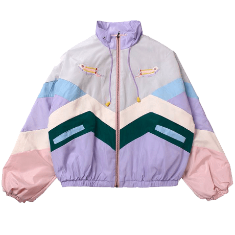 #windbreaker #90s #depop #trendy #clout #pastel
