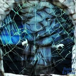 freetoedit stickers dark frightening scary