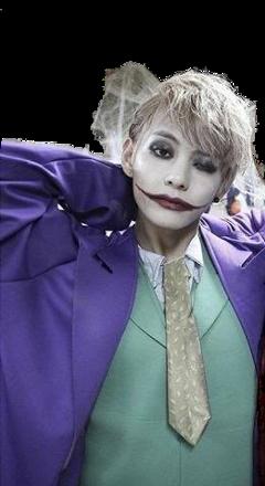 bts taehyung joker halloween freetoedit