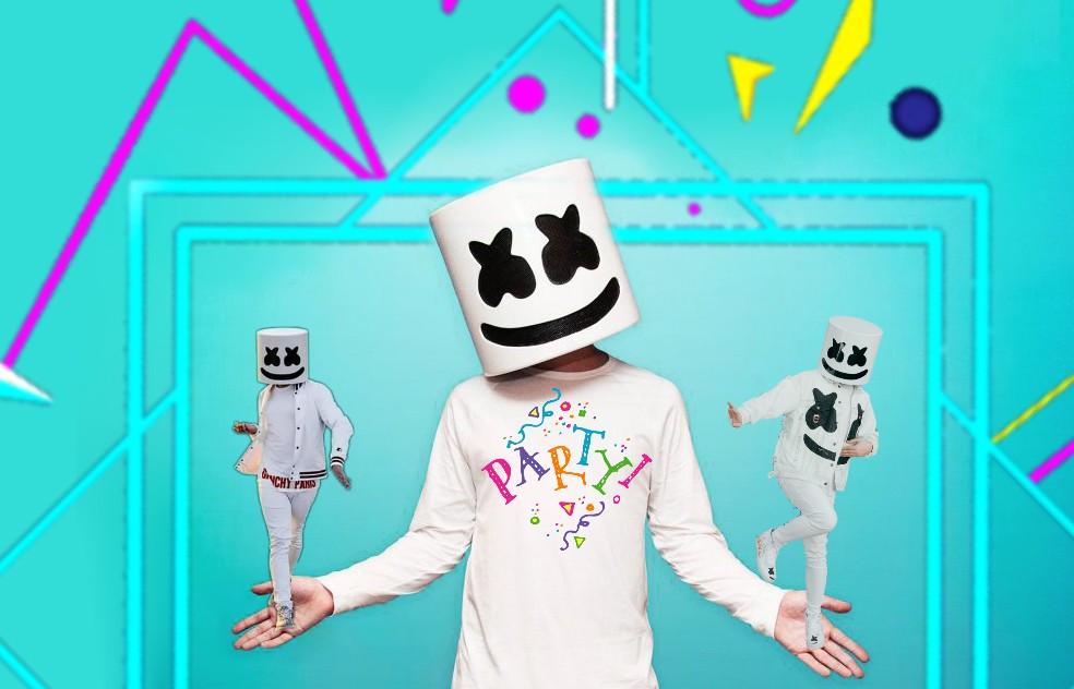Happy birthday Marshmello 🎂 #stickers #happybirthday #remixed #freetoedit
