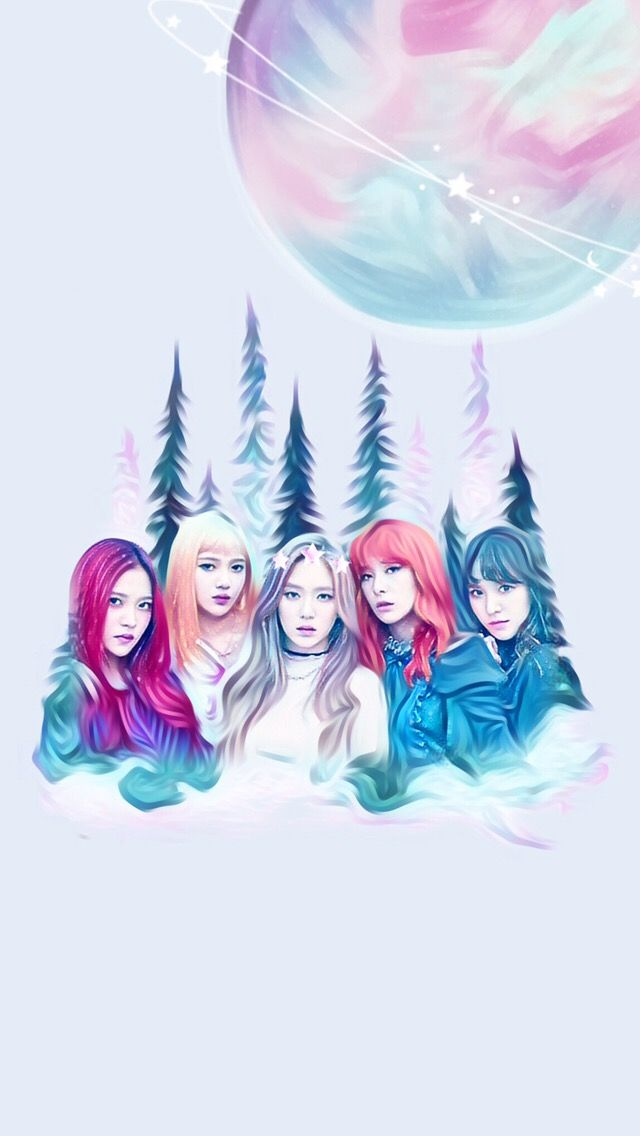 Red Velvet Wallpaper Fairyice Kpop Edit Aesthetic Cute