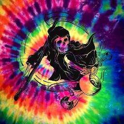 tyedye grimreapers poppunk tumblr pizza punk aesthetic skateboard rainbow gay