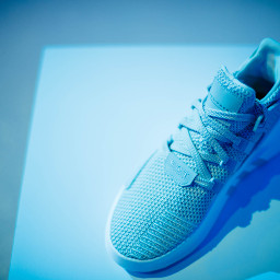 freetoedit shoes blue minimal sneakers